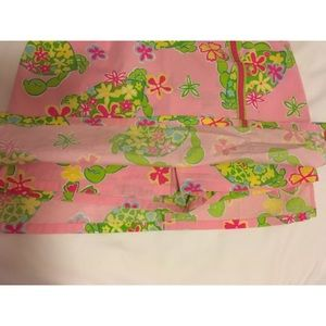 Lilly Pulitzer Shorts - Lilly Pulitzer Floral Crabs Skort